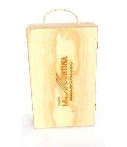 La Montina cadeaukist - 2 flessen