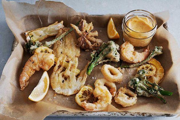 Een Italiaanse Kerst! Het tussengerecht van vis - Fritto Misto
