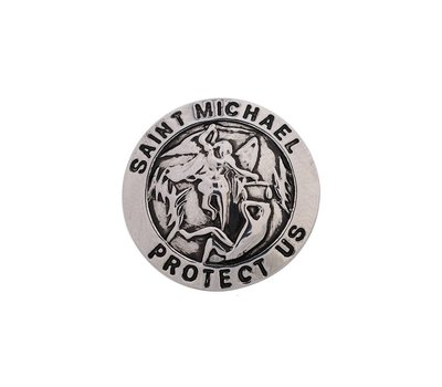 Clicks en Chunks | Click mSaint Michael protect us voor clicks sieraden