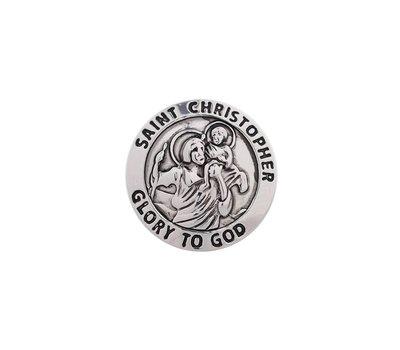 Clicks en Chunks | Click Saint Christopher glory to god voor clicks sieraden