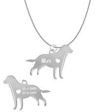 Sieraden met dieren Ketting met hanger Labrador Retriever
