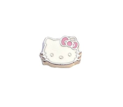 Floating Charms Floating charm hello kitty voor de memory locket
