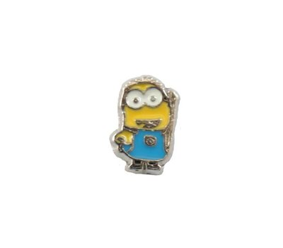 Floating Charms Floating charm two eyed minion voor de memory locket