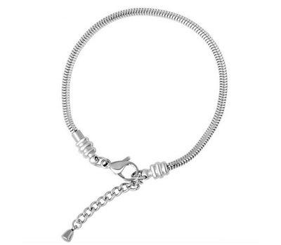Armband voor Bedels Bedelarmband zilverkleurig