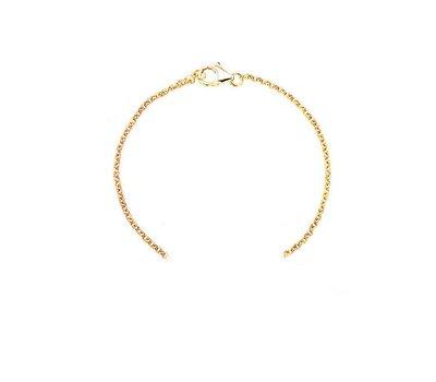 Sieraden met naam Goudkleurige Armband voor Armband met Naam