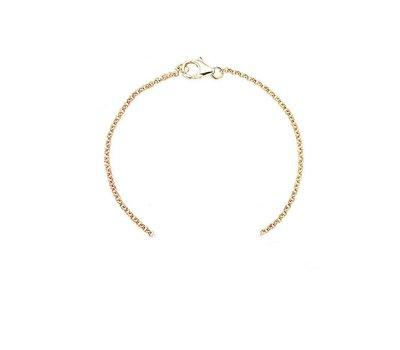 Sieraden met naam Rosé Goudkleurige Armband voor Armband met Naam
