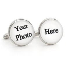 Fotoproducten Manchetknopen met foto zilverkleurig
