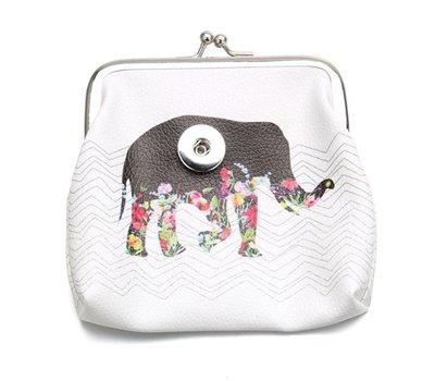 Clicks Sieraden Knip portemonnee olifant