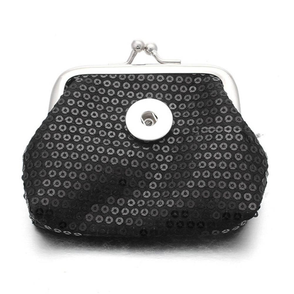 cd743bd360b Clicks Sieraden Knip portemonnee pailletten zwart - Shoppe | Mooi ...