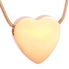 Ashangers Ashanger hart egaal goudkleurig