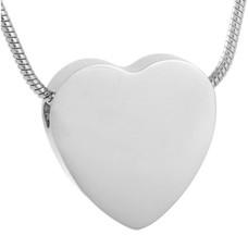 Ashangers Ashanger hart egaal zilverkleurig