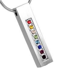 Ashangers Ashanger rechthoek multicolor zilverkleurig