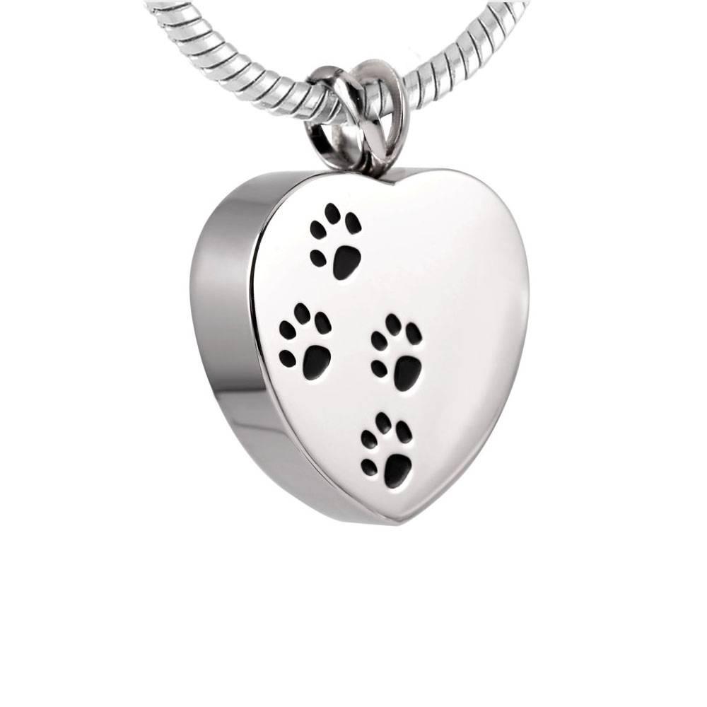 Wonderbaar Ashanger hart met hondenpootjes zilver kopen? | Goedkoop en Gratis YO-87