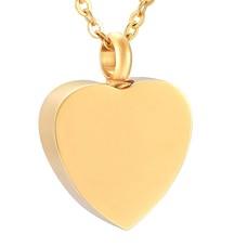 Ashangers Ashanger hart forever goudkleurig