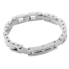 As Armbanden Armband met asruimte zilverkleurig