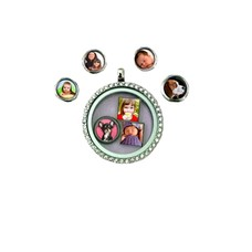 Floating Charms Floating charm foto rond