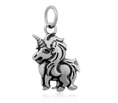 Hangende Bedels Hangende bedel unicorn