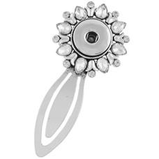 Clicks Sieraden Clicks boekenlegger bloem crystal
