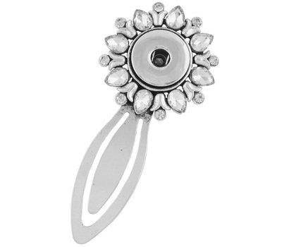 Clicks Sieraden Clicks boekenlegger bloem crystal voor clicks en chunks