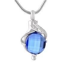 Ashangers Ashanger traan blauw zilver