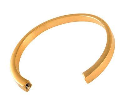 As Armbanden As slavenarmband goudkleurig