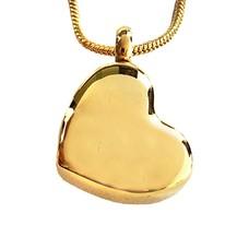 Ashangers Ashanger schuin hart goudkleurig