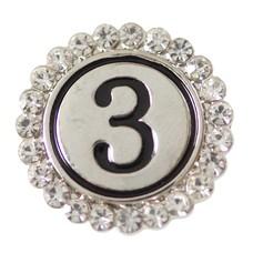 Clicks en Chunks | Click cijfer 3 zilver