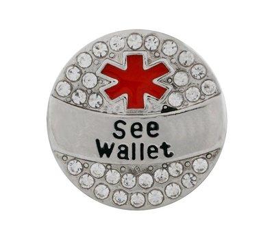Clicks en Chunks | Click  zie portemonnee voor clicks sieraden