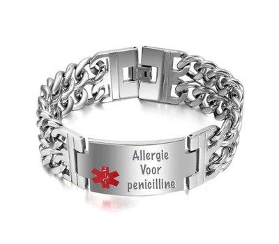 Medische alert armband Medische informatie Armband
