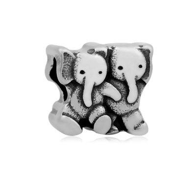 Bedels en Kralen Bedel olifanten voor bedelarmbanden