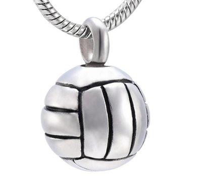 Ashangers Ashanger volleybal inclusief ketting