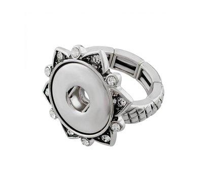 Clicks Sieraden Clicks ring elastisch voor clicks en chunks