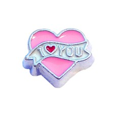 Floating Charms Floating charm I love you banner