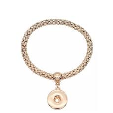 Clicks Armbanden |  Clicks armband elastisch goudkleurig