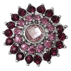 Clicks en Chunks | Click bloem paars roze