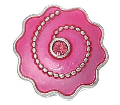 Clicks en Chunks | Click smiley roze voor clicks sieraden