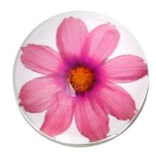 Clicks en Chunks | Click roze bloem