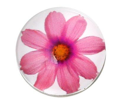 Clicks en Chunks | Click roze bloem voor clicks sieraden