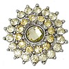 Clicks en Chunks | Click bloem geel voor clicks sieraden