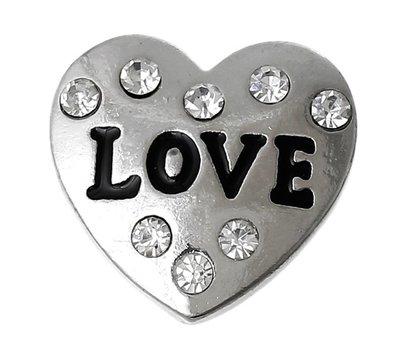 Clicks en Chunks | Click hart love voor clicks sieraden