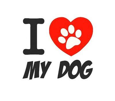 Clicks en Chunks | Clic love my dog voor clicks sieraden