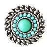 Clicks en Chunks | Click rond turquoise voor clicks sieraden