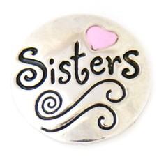 Clicks en Chunks | Click Sisters zilverkleurig