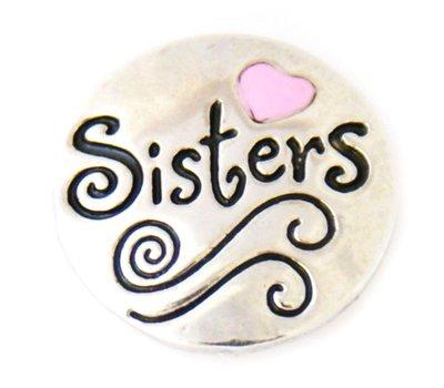 Clicks en Chunks | Click Sisters zilverkleurig voor clicks sieraden