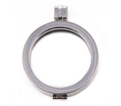 Hanger voor Muntketting Zilverkleurig van Roestvrij Staal