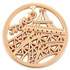 Munt voor Muntketting Eiffeltoren goudkleurig