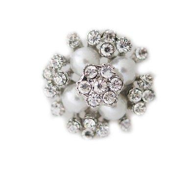 Clicks en Chunks | Click parels zilverkleurig voor clicks sieraden