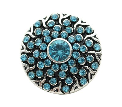 Clicks en Chunks | Click happy blauw voor clicks sieraden