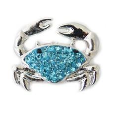 Clicks en Chunks | Click krab blauw