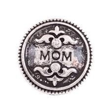 Clicks en Chunks | Click mama zilverkleurig